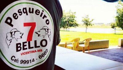 Almoço no Pesqueiro 7 Bello deste domingo terá MÚSICA AO VIVO em VICENTINA