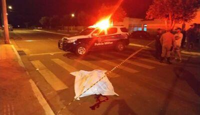 Homem é morto com golpe de faca em Nova Casa Verde