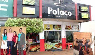 Self Service à R$ 15,00 e marmitex à R$10,00 é no Polaco Restaurante de Fátima do Sul