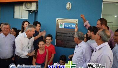Veja as FOTOS da Inauguração do Posto de Saúde do Altos do Barreirão em VICENTINA