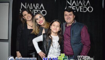 Confira as FOTOS do Camarim e Camarotes do Show da Naiara Azevedo em VICENTINA