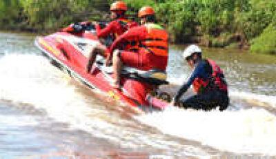 Corpo de Douradense que desapareceu em rio é encontrado pelo Corpo de Bombeiros