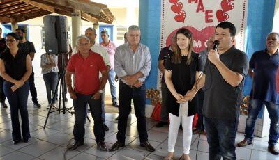 VICENTINA: Veja as fotos do sorteio de prêmios Dia das Mães nos distritos de Vila Rica e São  José