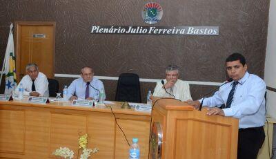 Confira o trabalho do seu vereador durante sessão ordinária da Câmara de Vicentina