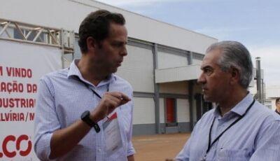 Governador participa de inauguração de fábrica de ração em Selvíria