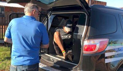Policia Civil prende jovem envolvido em furto de Supermercado