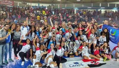 Não deu na Copa, mas deu no Futsal: Campeãs mundiais