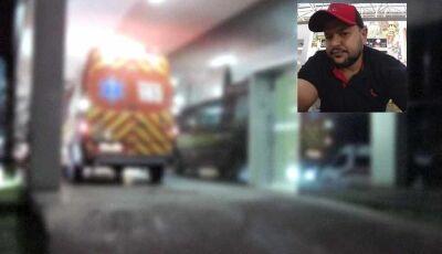 Motociclista sofre acidente no Aero Rancho e morre 2 horas depois na Santa Casa