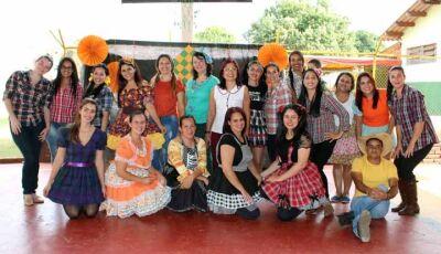 Reino do Saber encerra gincana de habilidades com Arraiá em Fátima do Sul