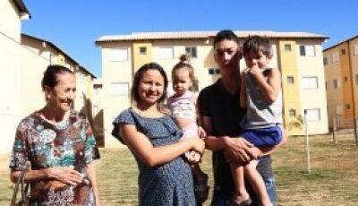 Com ajuda do Governo de MS, 240 famílias realizam sonho da casa própria em Campo Grande
