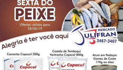 'SEXTA DO PEIXE' e aquele Caldo de carne, calabresa e queijo no Mercado Julifran em FÁTIMA DO SUL