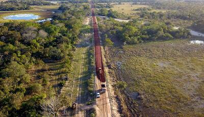 Estradas implantadas pelo Estado mudam o modelo da pecuária na região do Pantanal
