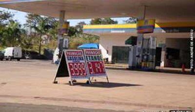 Preço da gasolina congela e litro é comercializado por R$ 3,99 em Campo Grande
