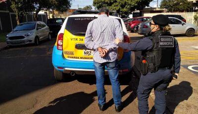 Estelionatário é preso após tentar dar golpe 'auxiliando' pessoas em banco de Dourados