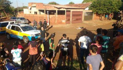 #AGORA: Jovem de 20 anos é executado a tiros em rua no Canaã em Dourados