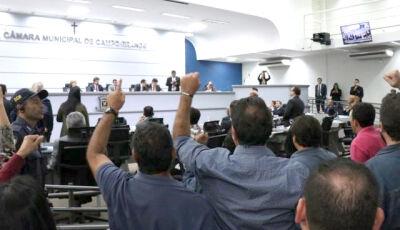Em regime de urgência, vereadores aprovam reforma da Previdência