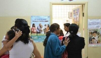 Mortes por gripe já chegam a 44 no MS, 2º maior indice registrado nos ultimos 10 anos