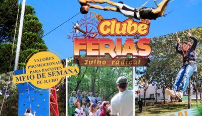 Circo Voar, tirolesa, arvorismo e diversos esportes radicais e muito mais no Campo Belo Resort