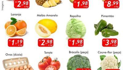 Hoje tem 'Quarta Verde' no Mercado Julifran, confira as ofertas em Fátima do Sul