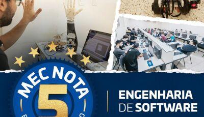 Engenharia de Software da UNIGRAN é reconhecido pelo MEC com a nota máxima