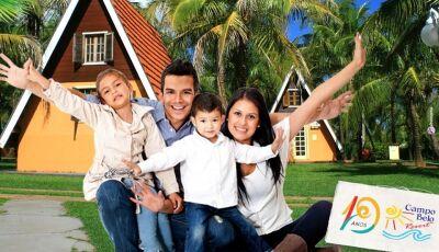 Confira o PACOTE do Dia dos Pais em um resort incrível, o Campo Belo Resort