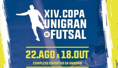 Inscrições abertas para a XIV Copa UNIGRAN de Futsal