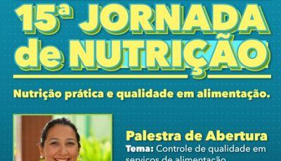 Vem aí a 15ª Jornada de Nutrição da UNIGRAN, veja a programação e como fazer a inscrição