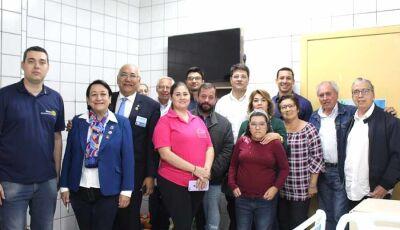Rotary Club de Fátima do Sul revitaliza pediatria do Hospital da SIAS