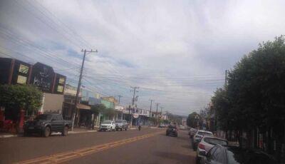 Semana inicia com previsão de chuva e queda de temperatura em Fátima do Sul