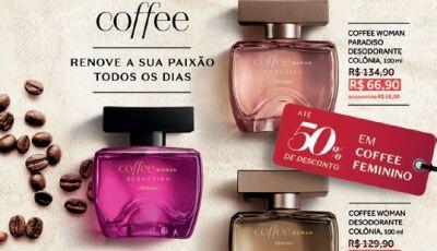 O Boticário com promoções de até 50% em alguns itens, promoção válida até dia 21 em Fátima do Sul