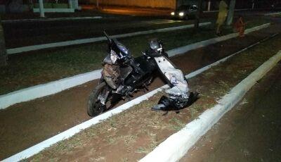 Homem morre no Hospital da Vida após bater moto na traseira de carro em Dourados
