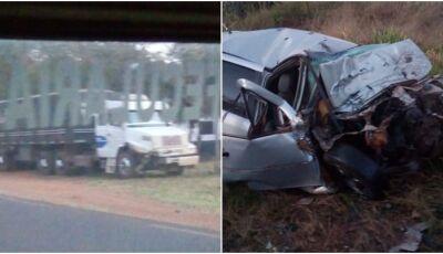 Vítima fatal é identificada de acidente entre Lagoa Bonita e Deodápolis