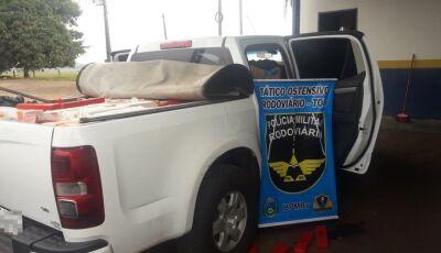Ivinhema - Polícia Militar Rodoviária apreende caminhonete com mais de uma tonelada de maconha