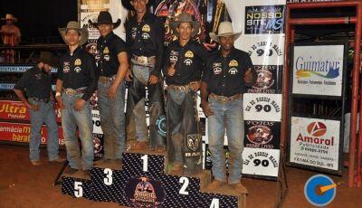 Gloriadouradense termina em 3º no Circuito de Rodeio em Jateí