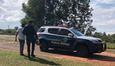 Equipe da PM de Caarapó impede que jovem de 19 anos cometa suicídio