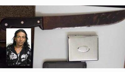 """Moradora da """"Favelinha"""" é presa minutos após assaltar com facão trabalhadora em P. Porã"""