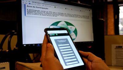 """""""Participa MS"""": ferramenta incentiva sul-mato-grossense a participar da gestão pública"""