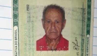 Família procura idoso de 85 anos com Alzheimer desaparecido em Campo Grande