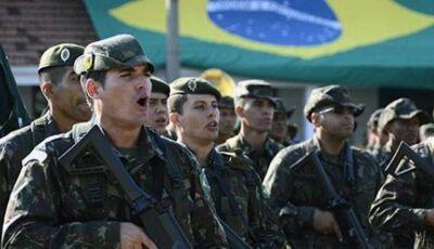 Exército abre inscrições para militares temporários com salários de quase R$ 7 mil