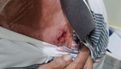 Aposentado se nega a comprar moto a nora e acaba brutalmente agredido em Ponta Porã