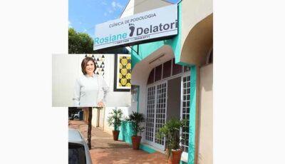 Agora em Fátima do Sul a moderna Clinica de Podologia Rosiane Delatori