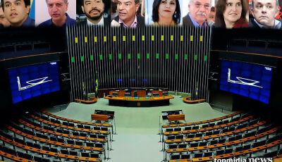 Com salários de até R$ 23 mil, mais de 300 pessoas 'auxiliam' deputados e senadores de MS