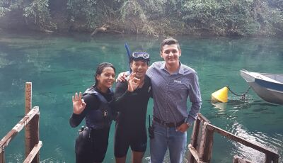 Antes de show em Campo Grande, Jorge Vercillo revela 'experiência fantástica' passar por Bonito (MS)