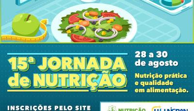 UNIGRAN recebe inscrições para a 15ª Jornada de Nutrição