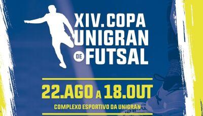 UNIGRAN abre inscrições para XIV Copa de Futsal