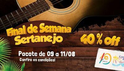 Campo Belo Resort com 40% de desconto no pacote de Dia dos Pais, FAÇA SUA RESERVA