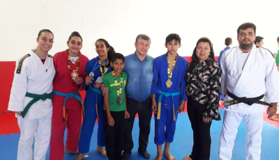 JATEÍ: Projeto 'Judô Cidadão' conquista medalhas e vice-campeão no 10° Torneio João Rocha de Judô