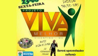 Cultura, Esporte, Turismo e descontração nesta sexta em Vicentina
