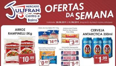 Confira as OFERTAS DA SEMANA e da QUARTA VERDE do Mercado Julifran em Fátima do Sul