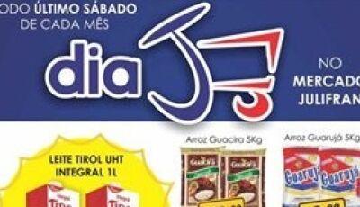 Hoje é o Dia 'J' do Mercado Julifran, tudo abaixo do preço em Fátima do Sul